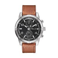 Relic Men's Simon Leather Watch