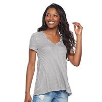 Women's Juicy Couture Glitter Textured Tee
