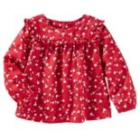 Baby Girl OshKosh B'gosh® Ruffle Floral Top