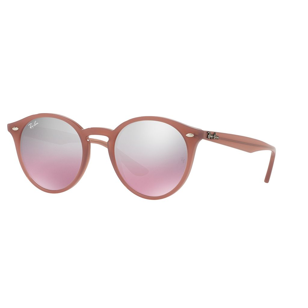 Ray-Ban RB2180 49mm Round Gradient Mirror Sunglasses