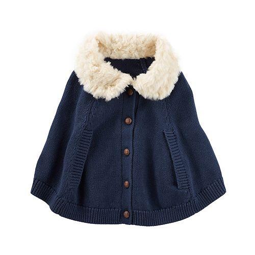 Baby Girl OshKosh B'gosh® Sweater Poncho