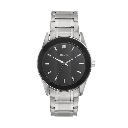 Relic Men's Rylan Diamond Stainless Steel Watch