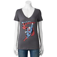 Juniors' DC Comics Superman Icon Graphic Tee
