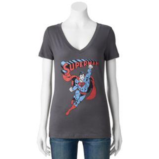 Juniors' DC Comics Superman Icon Graphic Tee