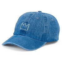 Women's SO® Crown Denim Baseball Cap