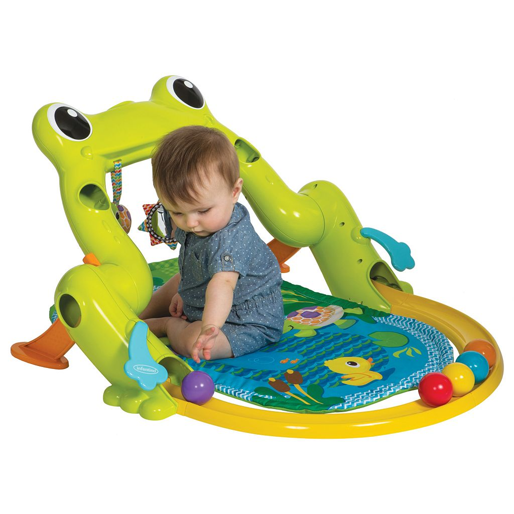 Infantino Great Leaps Infant Gym & Ball Roller Coaster