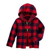 Baby Girl OshKosh B'gosh® Buffalo Check Midweight Jacket