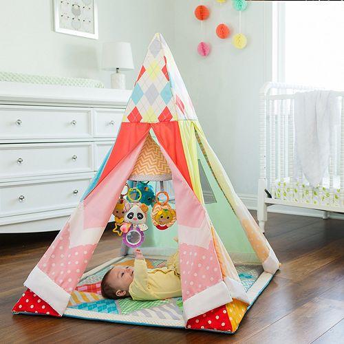 Infantino Grow-With-Me Infant Gym Playtime Teepee