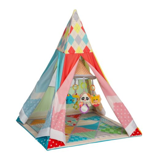Infantino Grow-With-Me Infant Gym Playtime Teepee
