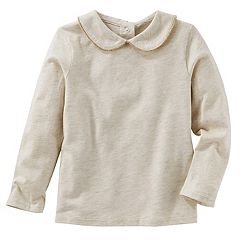 Toddler Girl OshKosh B'gosh® Peter Pan Collar Top