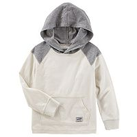 Toddler Boy OshKosh B'gosh® White Colorblock Pullover Hoodie