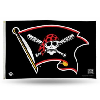 Pittsburgh Pirates Jolly Roger Banner Flag