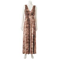 Women's Jennifer Lopez Smocked Waist Maxi Dress