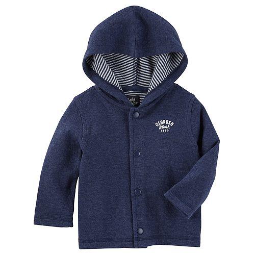 Baby Boy OshKosh B'gosh® Hooded Cardigan