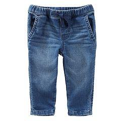 Baby Boy OshKosh B'gosh® Pull-On Knit Denim Pants