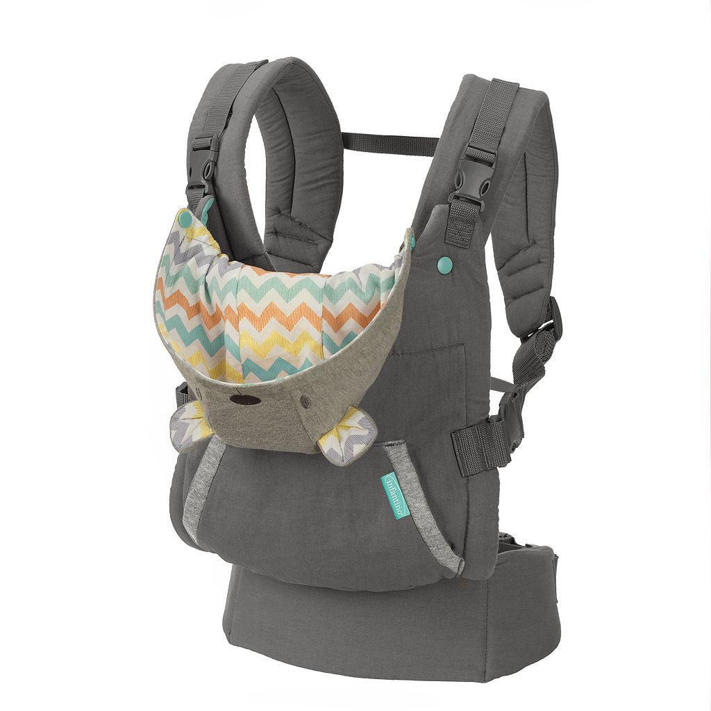 Infantino Cuddle Up Ergonomic Hoodie Baby Carrier