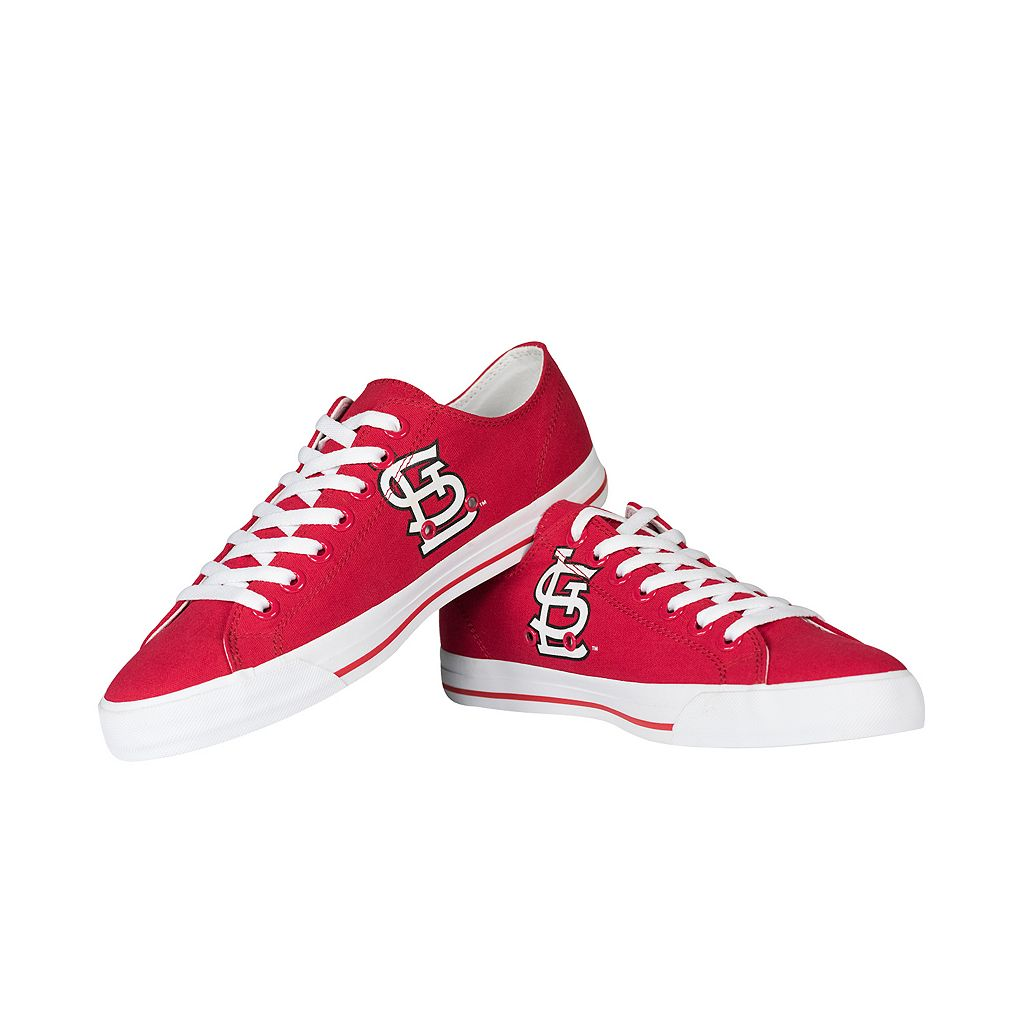 Adult Row One St. Louis Cardinals Large Logo Sneakers