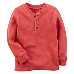 Baby Boy Carter's Thermal Long Sleeve Henley