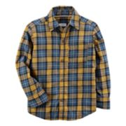 Baby Boy Carter's Plaid Flannel Button Down Shirt