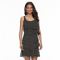 Women's Bethany Tiered Polka-Dot Shift Dress