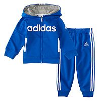 Baby Boy adidas 2 pc Hooded Jacket & Pants Set