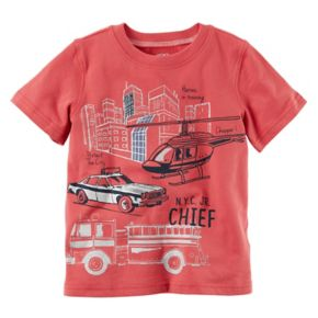 Baby Boy Carter's Rescue Slubbed Graphic Tee