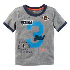 """Baby Boy Carter's """"3"""" Patched Applique Graphic Tee"""