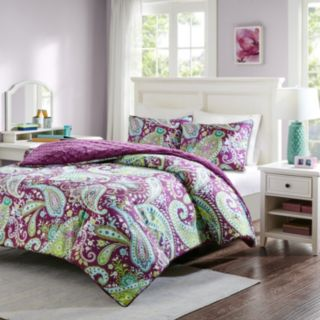 Intelligent Design Melissa Reversible Comforter Set