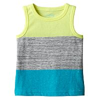 Baby Boy Jumping Beans® Slubbed Colorblock Tank Top