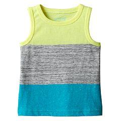 Baby Boy Jumping Beans® Slubbed Colorblock Tank Top