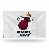 Miami Heat White Banner Flag