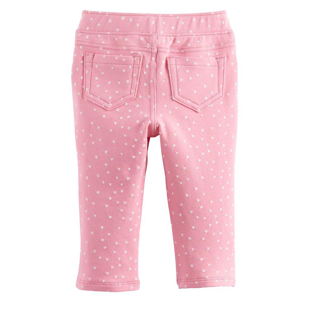 Baby Girl Jumping Beans® Print Full-Length Leggings