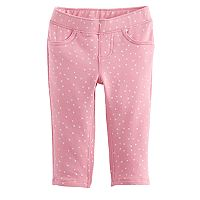 Baby Girl Jumping Beans® Print Full-Length Leggings