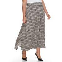 Plus Size Dana Buchman Maxi Skirt