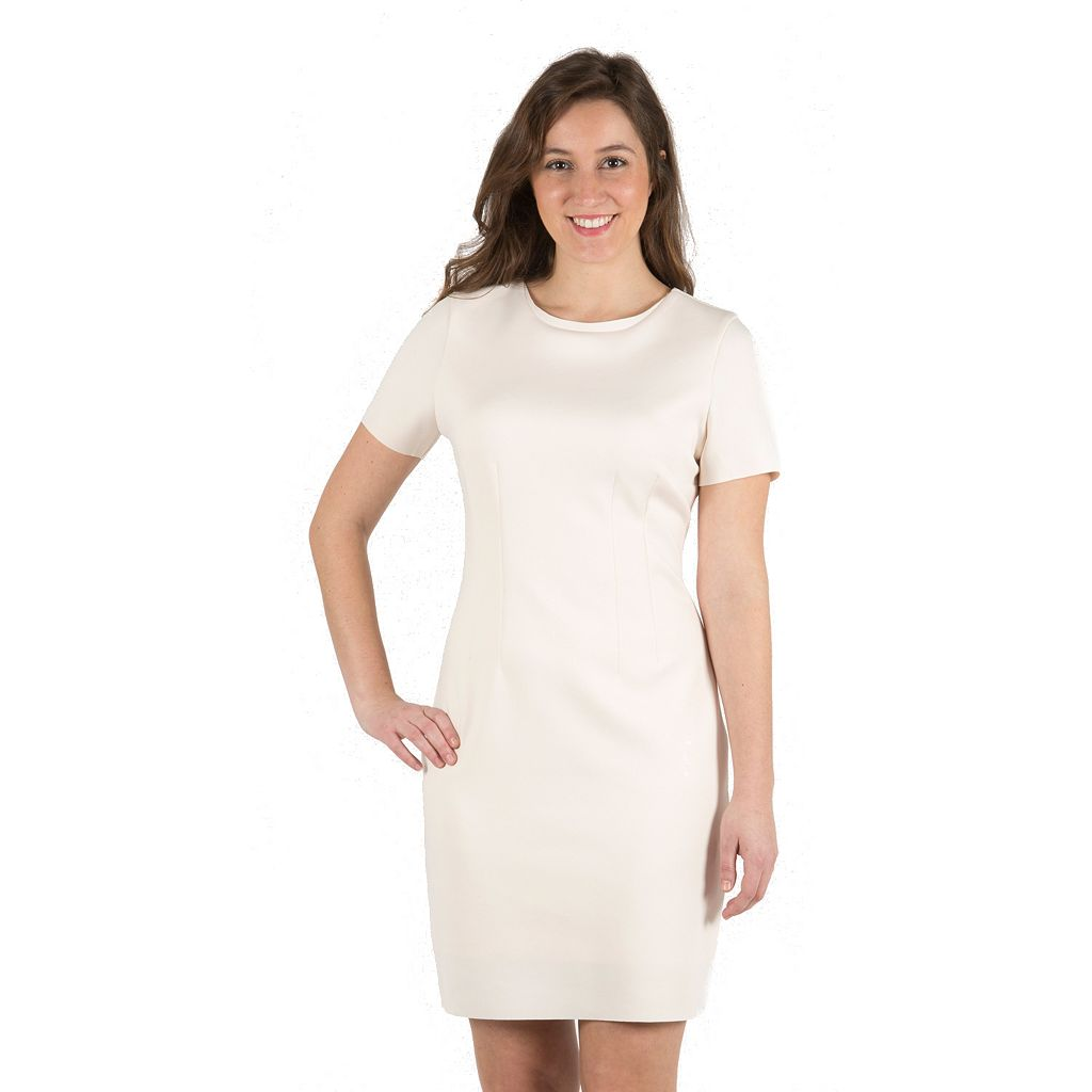 Women's Harve Benard Scuba Sheath Dress