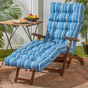 Greendale Home Fashions 72-inch Outdoor Chaise Lounge Cushion Sapphire