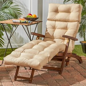 Greendale Home Fashions 72-in. Outdoor Chaise Lounger Cushion