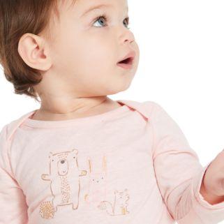 Baby Girl Jumping Beans® Graphic Nep Bodysuit