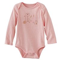 Baby Girl Jumping Beans® Graphic Nep Bodysuit