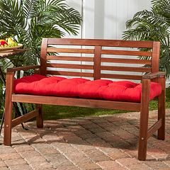 Greendale Home Fashions 46-in. Outdoor Swing & Bench Cushion