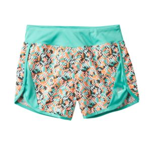 Girls 7-16 RBX Printed Mesh Shorts