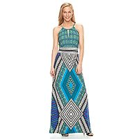 Women's Suite 7 Geometric Maxi Dress