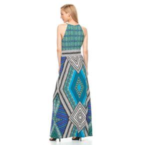 Women's Suite 7 Geometric Maxi Dress