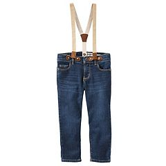 Toddler Girl OshKosh B'gosh® Suspender Jeans