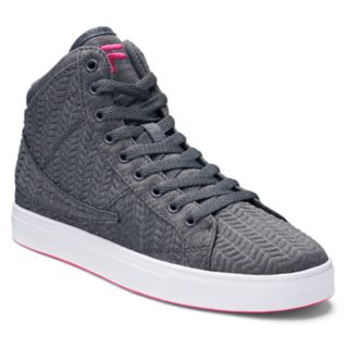FILA® Smokescreen 2 Women's Chevron High Top Sneakers