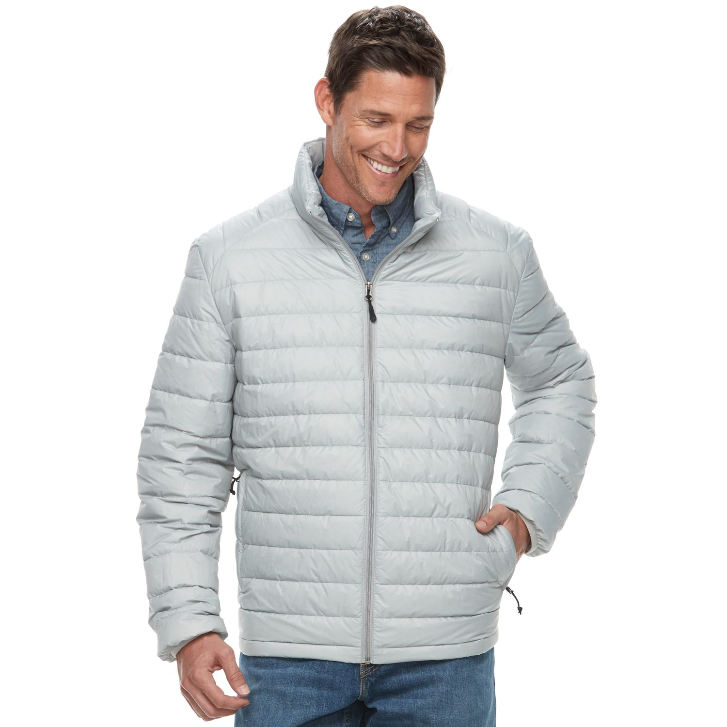 Mens puffer jacket kohls