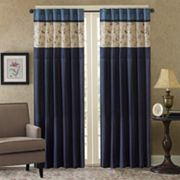 Madison Park Belle Embroidered Window Curtain