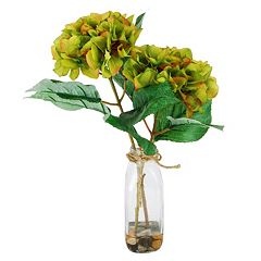 Designs by Lauren Contemporary Artificial Hydrangea Arrangement