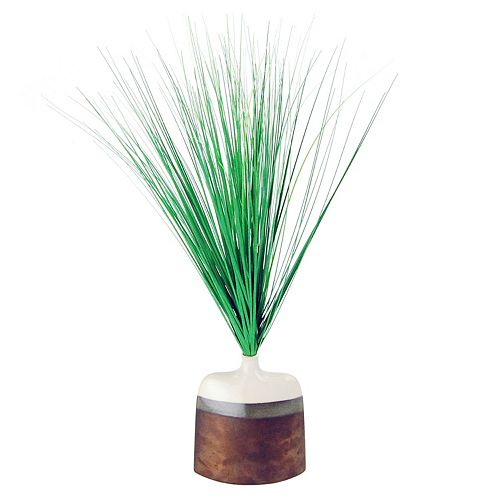 Designs by Lauren Modern Artificial Maiden Grass Plant