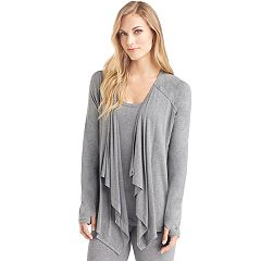 Women's Cuddl Duds Softwear Wrap Cardigan